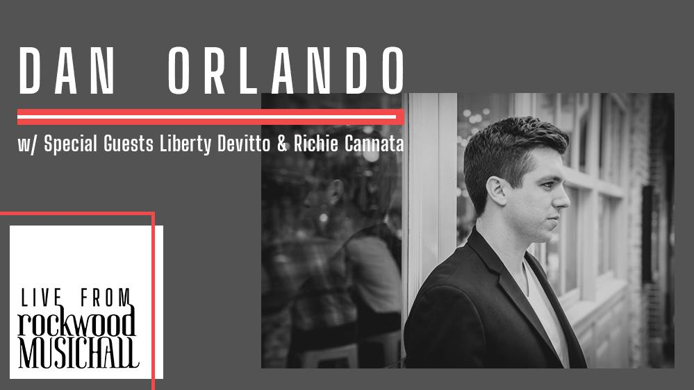 Dan Orlando w/ special guests Liberty Devitto & Richie Cannata (of Lords of 52nd Street) - Live from Rockwood Music Hall