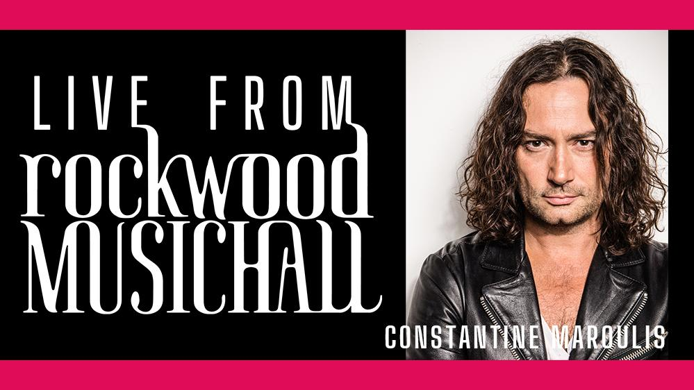 Constantine Maroulis - Live from Rockwood Music Hall