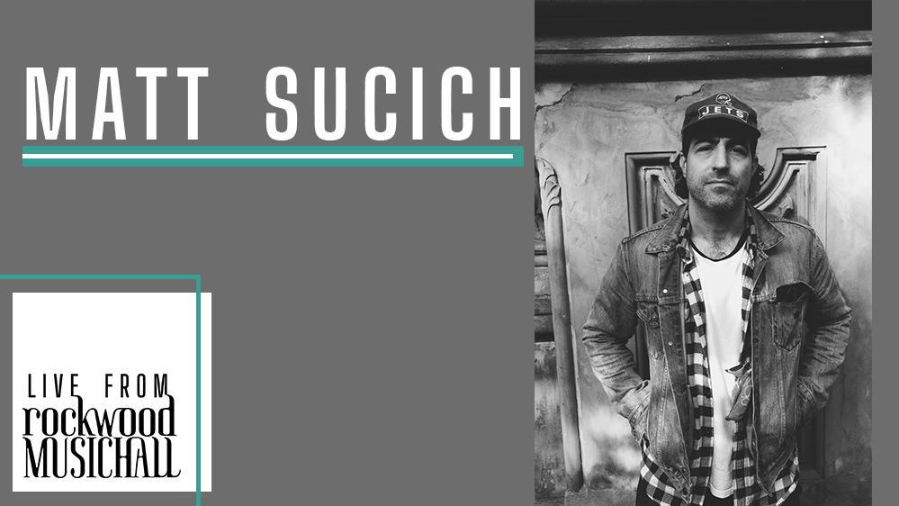 Matt Sucich - Live from Rockwood Music Hall