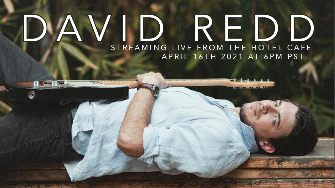 David Redd - Streaming Live From The Hotel Cafe