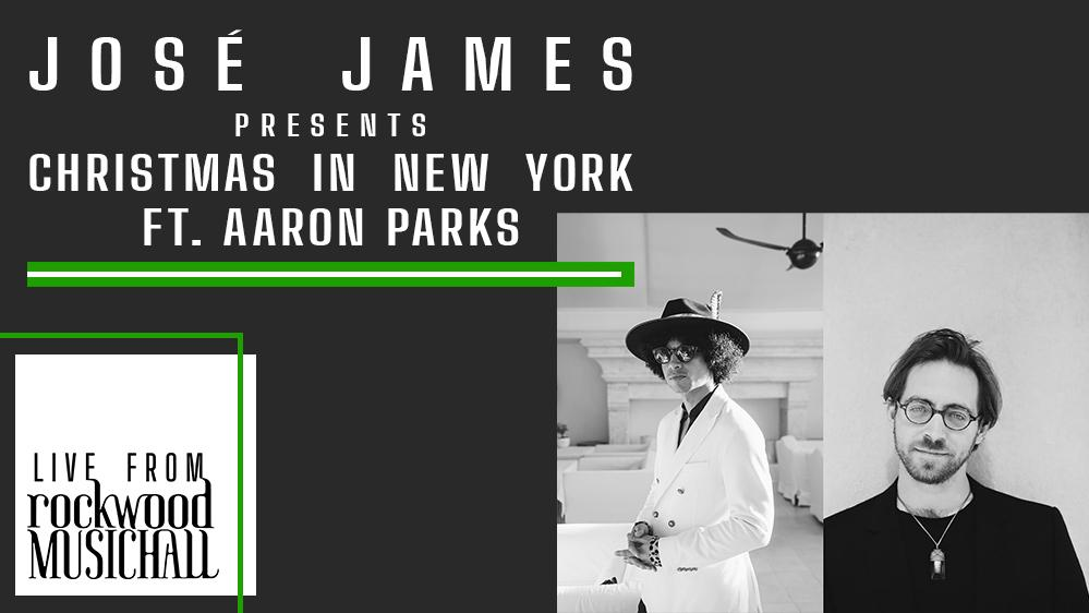 José James presents Christmas in New York ft. Aaron Parks - Live from Rockwood Music Hall